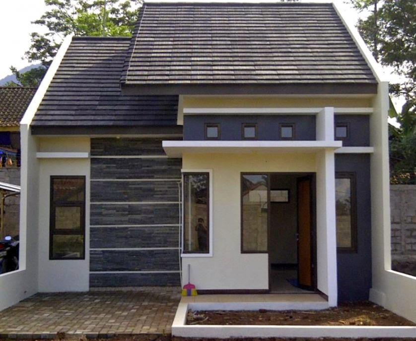 foto bangunan rumah minimalis